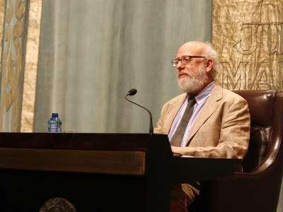 José Luis Peset. Conferencia sobre La polémica de la ciencia española. Menéndez Pelayo contra la Institución Libre de Enseñanza - Las querellas de los historiadores