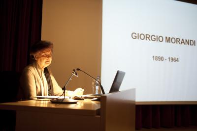 Carmen Laffon. Conferencia Con motivo de la Exposición Morandi
