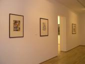 Vista parcial de la exposición Popova, 2004