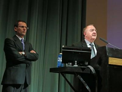 Enrique García Hernán y Ricardo García Cárcel. Conferencia sobre La cara oculta de Ignacio de Loyola: el mediador - Españoles eminentes