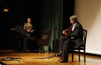 Andrés Batista y Adolfo Perales. Conferencia sobre Un recorrido por el flamenco