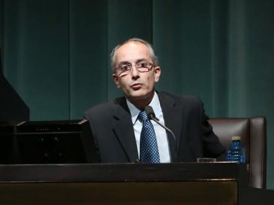 Javier Martínez de Aguirre. En conferencia sobre La catedral de Toledo: tradición y vanguardia - Catedrales góticas