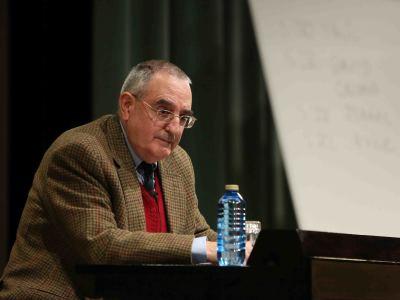 Joaquín Sanmartín. En conferencia sobre David y el Reino - Figuras del Antiguo y Nuevo Testamento