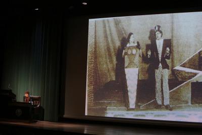 Llanos Gómez. En conferencia sobre El teatro mundi de Fortunato Depero: la reconstrucción futurista del universo - El futurismo y Depero