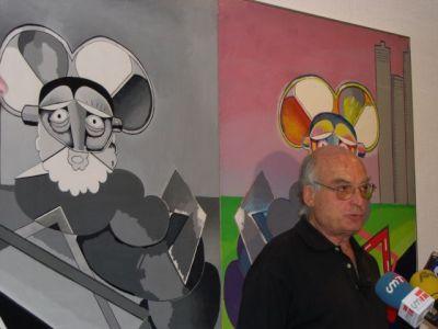 Luis Gordillo. Exposición Gordillo Dúplex