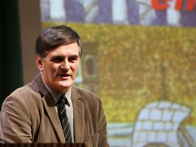 Lauro Olmo. En conferencia sobre Rávena: espacio y tiempo de una ciudad entre Oriente y Occidente - Las ciudades en la antigüedad mediterránea