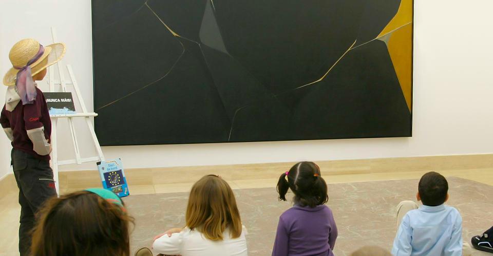 Actividad didáctica en el Museu Fundación Juan March (Palma)