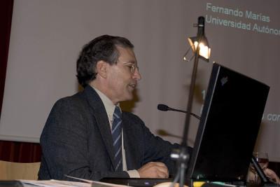 Fernando Marías en el curso sobre Autorretrato
