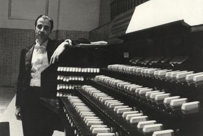 Ramón González de Amezúa. Ciclo de conciertos de Música española para órgano