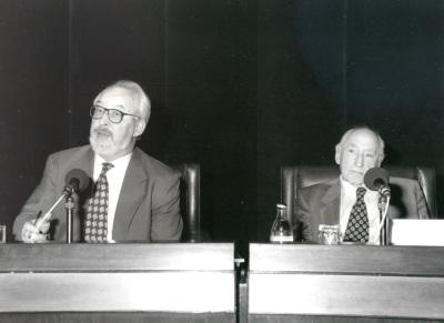 Antonio Gallego Gallego y Carlos Bousoño. Conferencia sobre Salvación en la música - Poesía y música