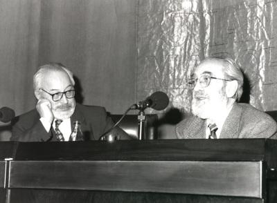 Antonio Gallego Gallego y Ángel González. Conferencia sobre Estoy bártok de todo - Poesía y música
