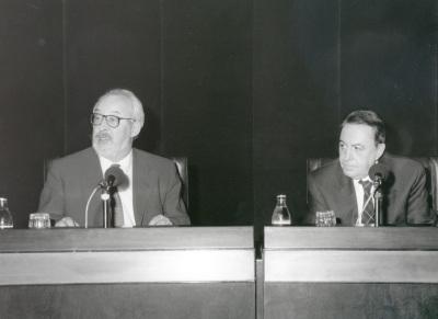 Antonio Gallego Gallego y Claudio Rodríguez. Conferencia sobre De los álamos vengo - Poesía y música