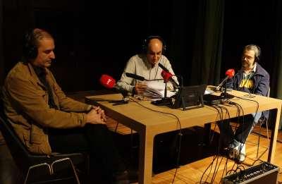 Jesús Torres, Juan Manuel Viana Ollorqui y David del Puerto. Entrevista de RNE
