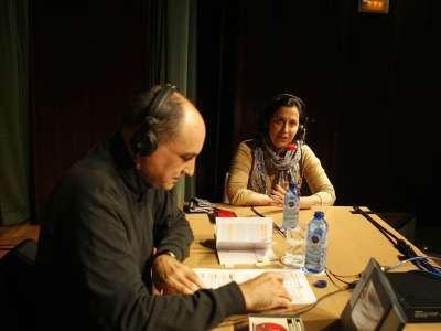 Marian Womack y Juan Manuel Viana Ollorqui. Entrevista de RNE