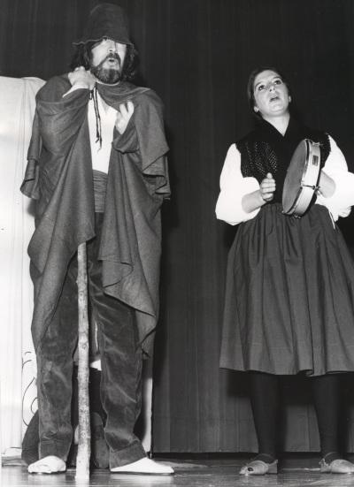 Carmen Heyman y Servando Carballar. Recitales de Poesía y teatro en homenaje a la Generación del 27