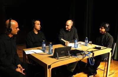 David Ballesteros, Cristo Barrios, Juan Manuel Viana Ollorqui y Gustavo Díaz-Jerez. Entrevista de RNE