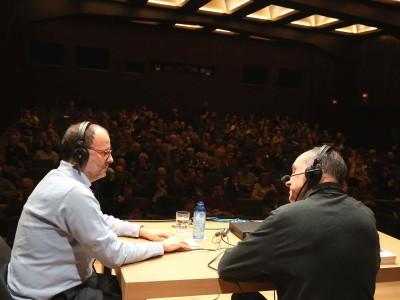Juan Manuel Viana Ollorqui y Juan José Herrera de la Muela. Entrevista de RNE