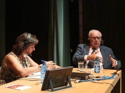 Laura Prieto y Román Gubern. Entrevista de RNE