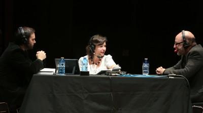 Rubén Fernández Aguirre, Laura Prieto y Rafael Banús. Entrevista de RNE