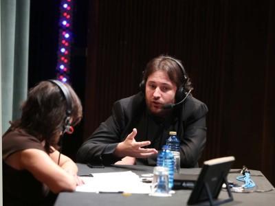 Laura Prieto y Josetxu Obregón. En entrevistas de RNE