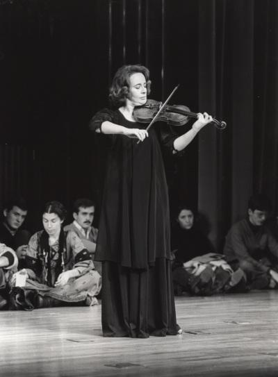 Polina Kotliarskaya. Concierto J. S. Bach: sonatas y partitas para violín solo