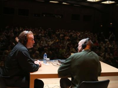 Juan Manuel Viana Ollorqui y John Stokes. Entrevista de RNE