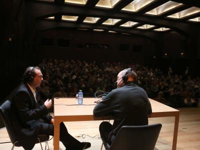 Juan Manuel Viana Ollorqui y Miguel Ángel Lucas. Entrevista de RNE