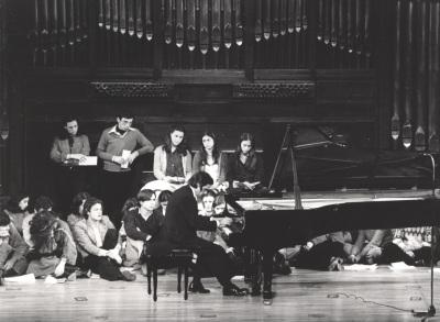 Mario Monreal. Concierto Cuatro pianistas españoles