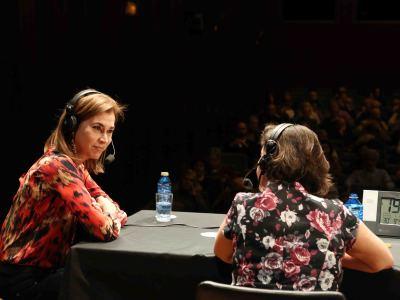 Carmen Posadas y Laura Prieto. Entrevista de RNE