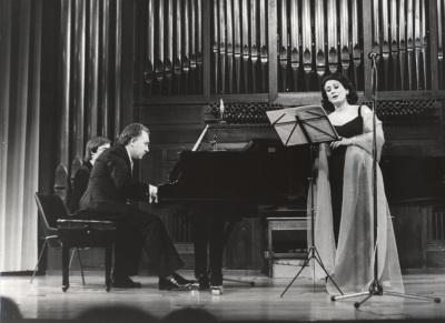 Ana Higueras y Miguel Zanetti. Concierto II Ciclo de música española del siglo XX