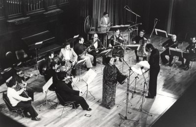 Esperanza Abad, José María Frade y Grupo Solistas de Madrid. Concierto II Ciclo de música española del siglo XX