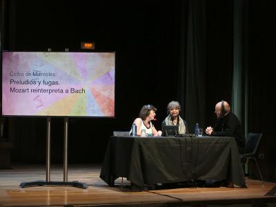 Laura Prieto, Muriel von Braun y Anssi Karttunen. Entrevista de RNE