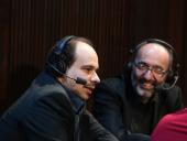 Claudio Martínez Mehner y Kennedy Moretti. Entrevista de RNE , 2014
