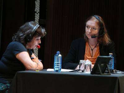Laura Prieto y Rosa Sala Rose. Entrevista de RNE