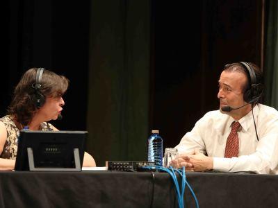 Laura Prieto y Ricardo Llorca. Entrevista de RNE