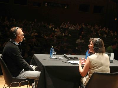 Tom Hornsby y Laura Prieto. Entrevista de RNE