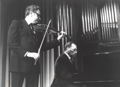 Agustín León Ara y José Tordesillas. Concierto Ciclo completo de sonatas para violín y piano de Beethoven
