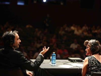 Laura Prieto y Vittorio Ghielmi. Entrevista de RNE