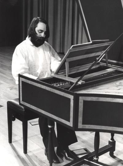 José Rada. Recital de clavicémbalo