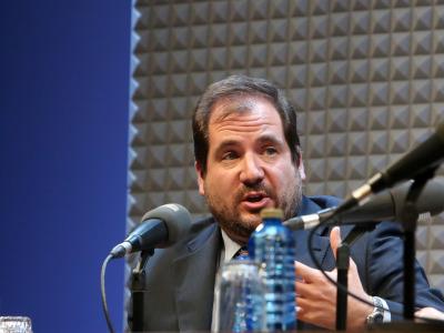Ignacio Molina Álvarez de Cienfuegos. En conferencia sobre Futuro de las monarquías en el mundo