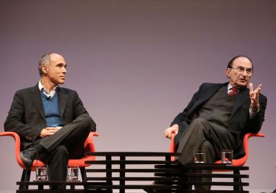 Juan Díez Medrano y Emilio Lamo de Espinosa. En conferencia sobre Globalización