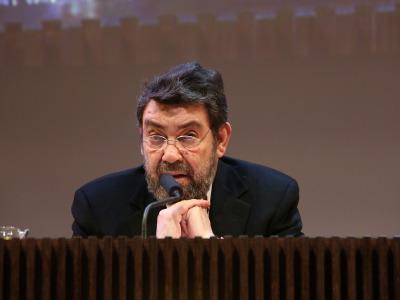 Mauro Armiño. En conferencia sobre Selección de poemas presentados por Mauro Armiño y lectura dramatizada por Josep Maria Flotats - Rimbaud y Verlaine