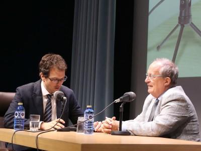 Íñigo Alfonso y Fernando García de Cortázar en Memorias de la Fundación