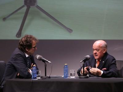 Íñigo Alfonso y Juan Antonio Sagardoy en Memorias de la Fundación
