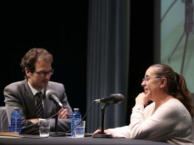 Íñigo Alfonso y Manuela Mena en Memorias de la Fundación