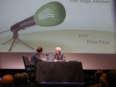 Íñigo Alfonso y Elías Díaz García en Memorias de la Fundación