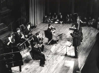José Ramón Encinar y Grupo Koan. Concierto Matisse