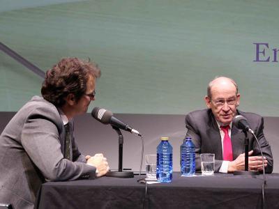 Íñigo Alfonso y Enrique Gimbernat en Memorias de la Fundación
