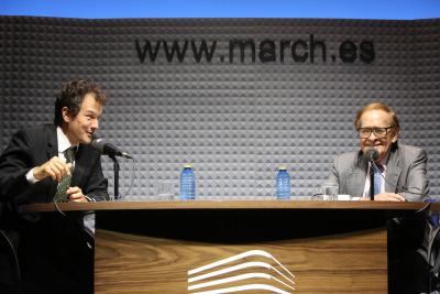 Íñigo Alfonso y Ramón Tamames en Memorias de la Fundación