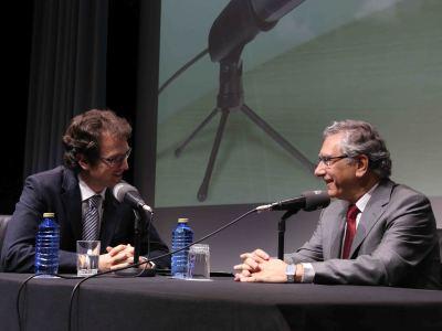 Íñigo Alfonso y Julio Trebolle en Memorias de la Fundación